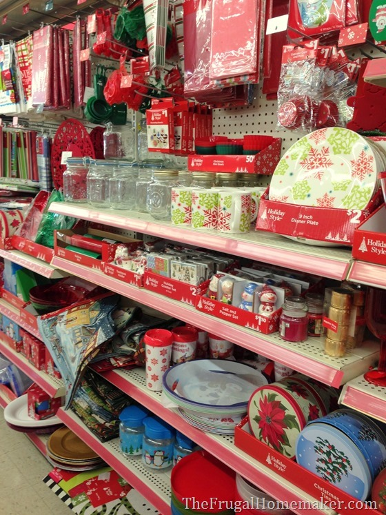 Natural \ Woodland Christmas tablescape - dollar general christmas decorations