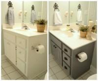 Guest bathroom update  Farmhouse style bathroom gray ...