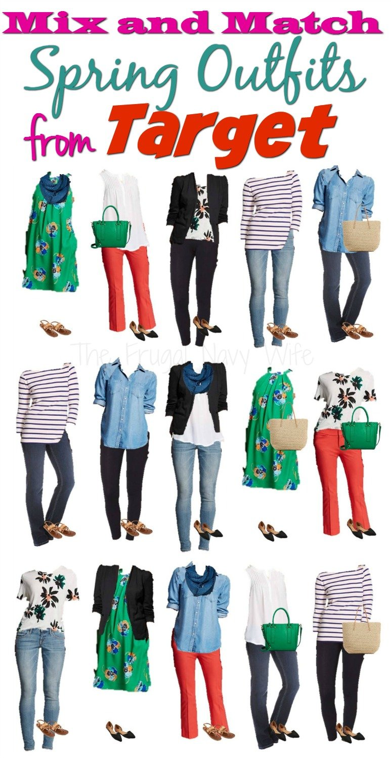 Mix And Match Mix And Match Spring Outfits From Target
