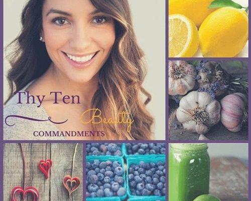 thy 10 beauty commandments