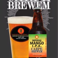 Empyrean's Carpe Brewem Imperial Mango IPA Now Available