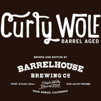 BarrelHouse Brewing Releases Curly Wolf - Maple Vanilla Bourbon Barrel Aged Imperial Stout