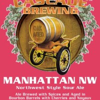 Cascade Brewing Manhattan NW 2013 Release Tomorrow
