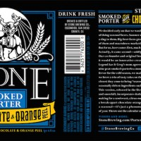 Stone Smoked Porter w/ Chocolate & Orange Peel Begins Shipping