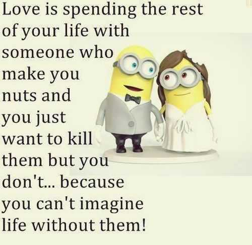 Married Couple Wallpaper With Quotes Funny Minion Quotes Of The Week