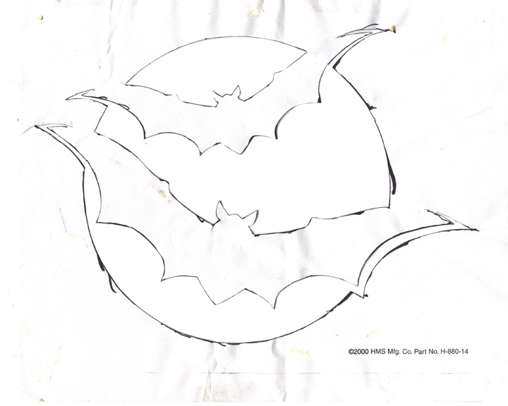 Image result for hand drawn halloween jack o lanterns resin - bat template