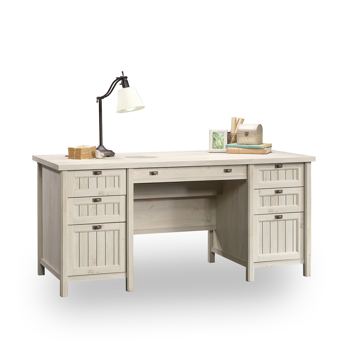 Executive Desk Canada Sauder Stockbridge Executive Trestle Desk Canada Hostgarcia