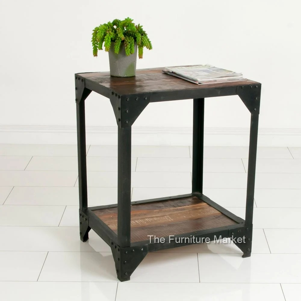 Industrieel Sidetable Product Of The Week - Industrial Low Mobile Bookcase | The