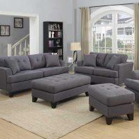 Gray Sofa Set Homelegance Ashmont Sofa Set Dark Grey Linen ...