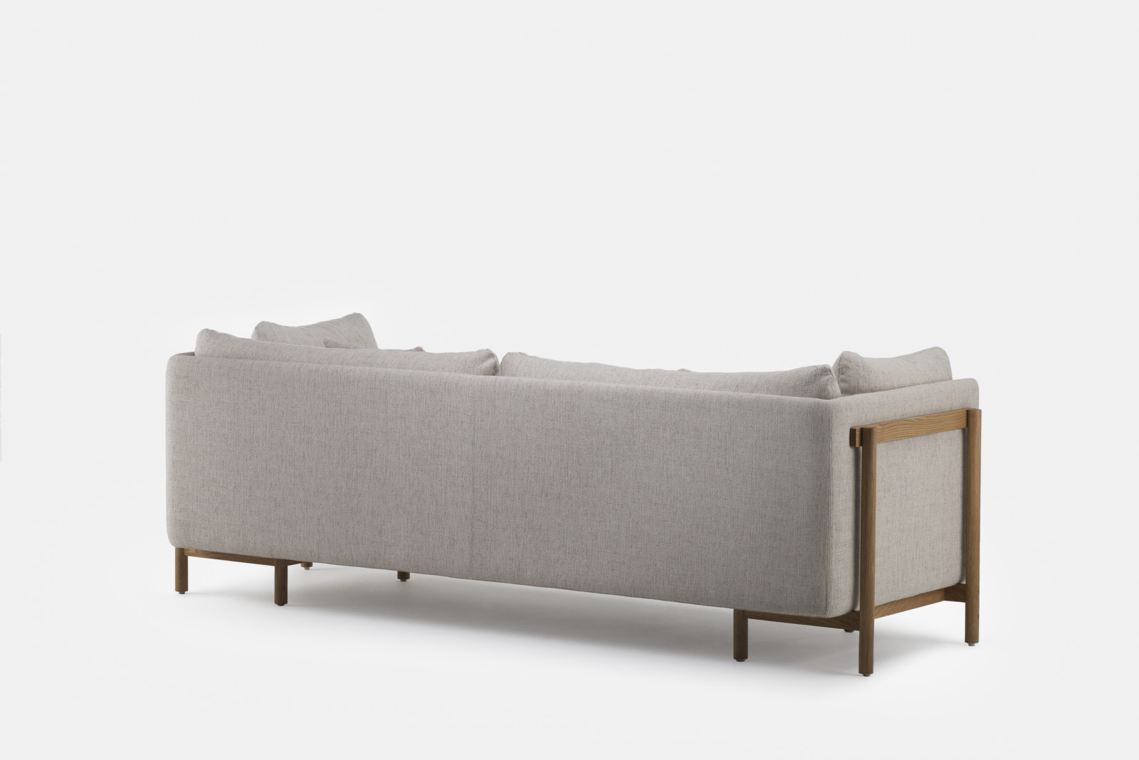 Couch Boxspring Frame Sofa With Arms