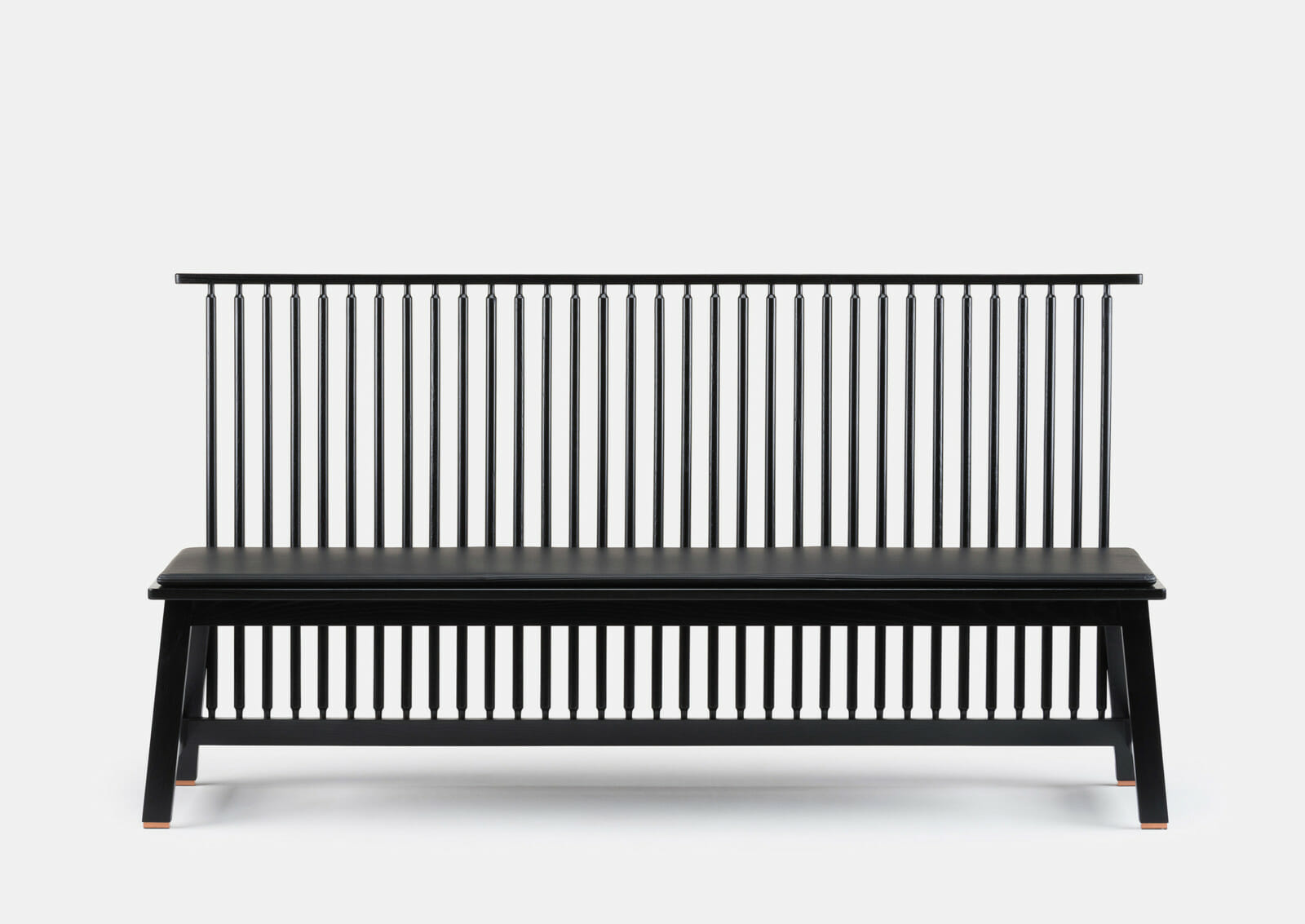 Black Bench Bench With Back