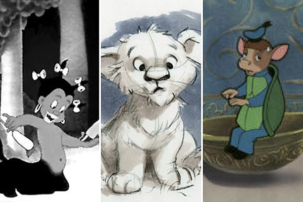 Bob Cut Drawing 12 Lost Disney Characters You've Probably Never Heard Of