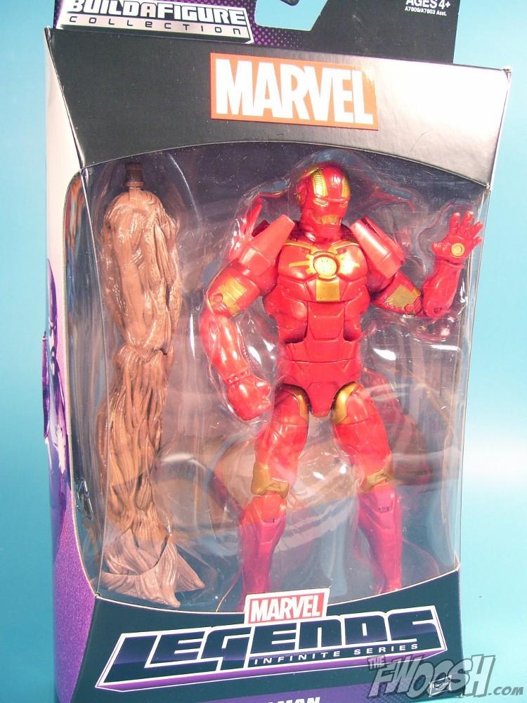 Hasbro guardians of the galaxy legends infinite iron man the fwoosh
