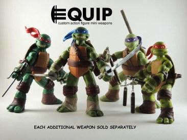 Custom weapons for TMNT 2012 TMNT-Custom-crafted-mini-nunchucks-Ninja-Turtles