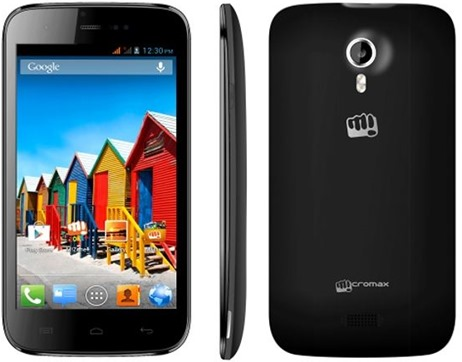 Micromax A115 3d Android phone launch