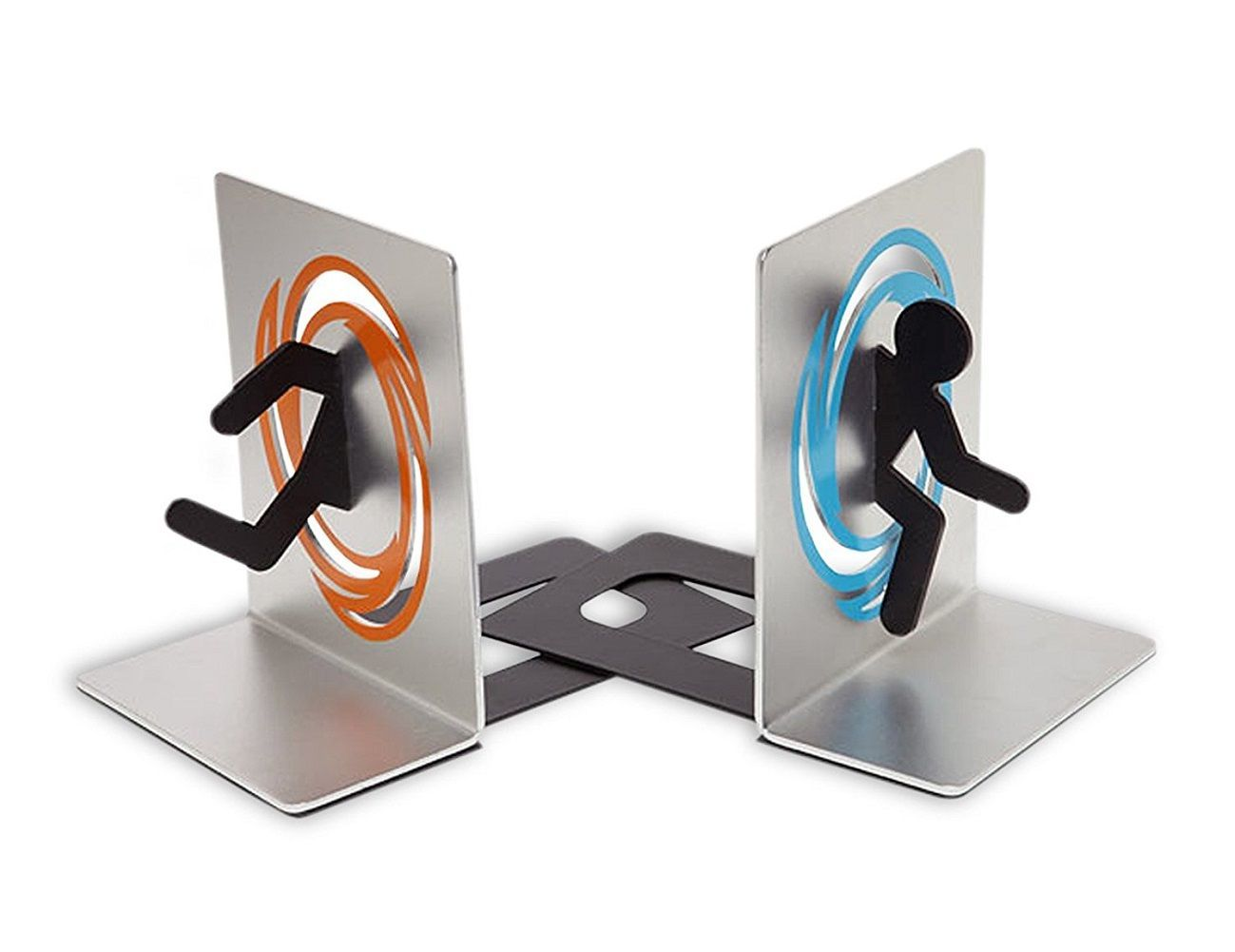 Bookends Book Portal 2 Bookends For Shelf And Books Gadget Flow