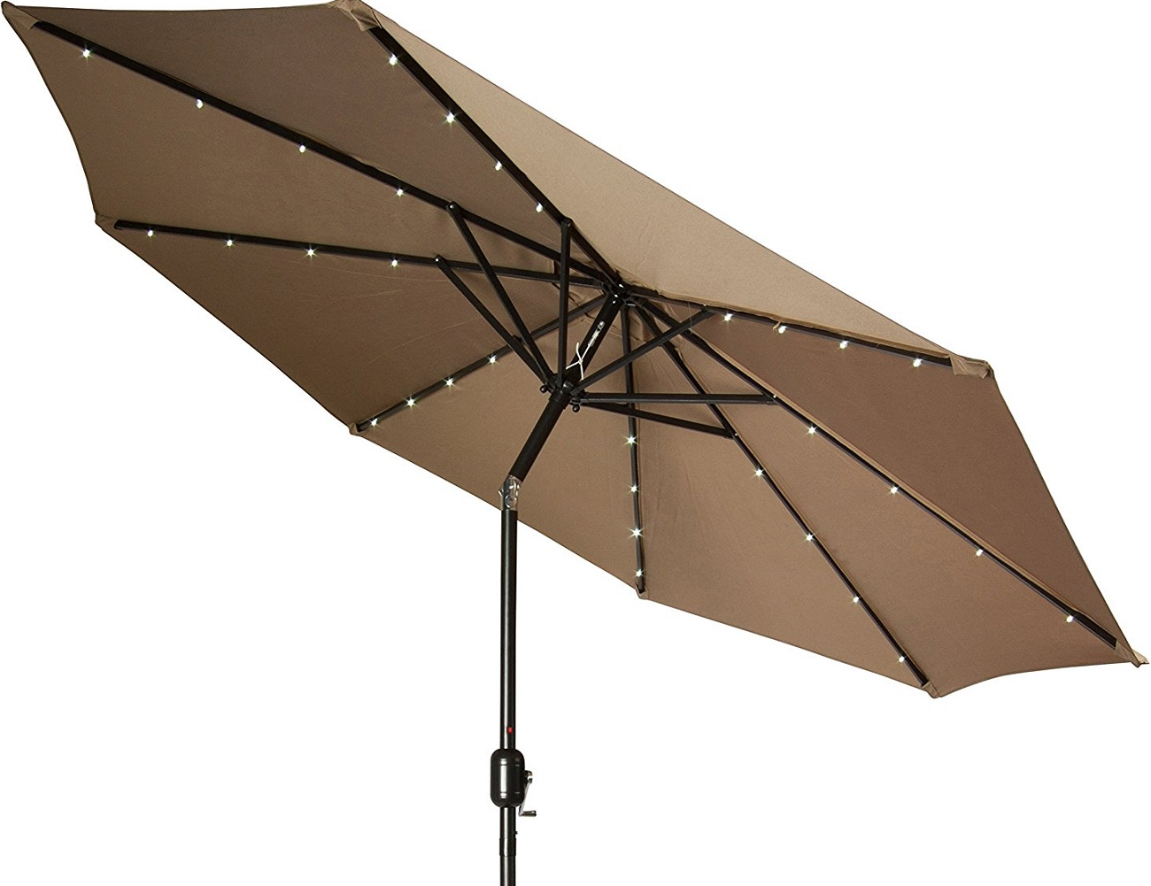 Solar Powered Patio Umbrella Gadget Flow