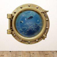 Underwater Porthole Wall Sticker  Gadget Flow