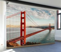 Golden Gate Bridge Wall Mural Decal  Review