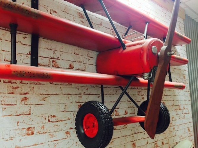 Red Baron Airplane Wall Shelving Review