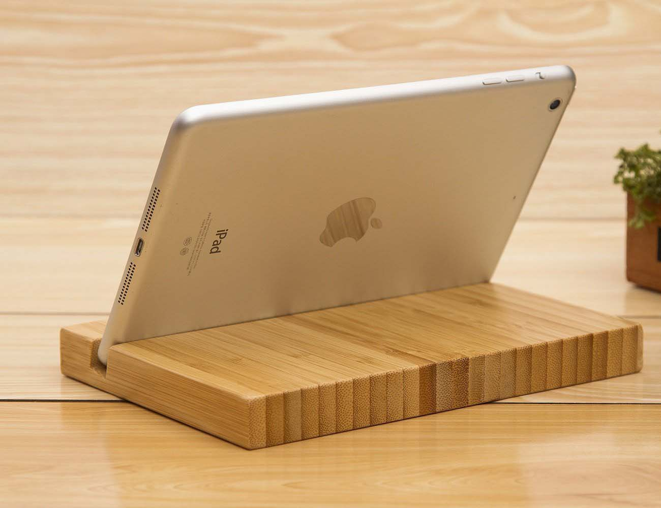 Bamboo Tablet Bamboo Tablet Stand Gadget Flow