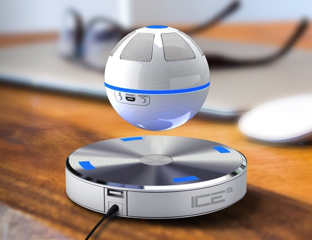 Cool Technology Gifts 2015 Iceorb Floating Bluetooth Speaker Review