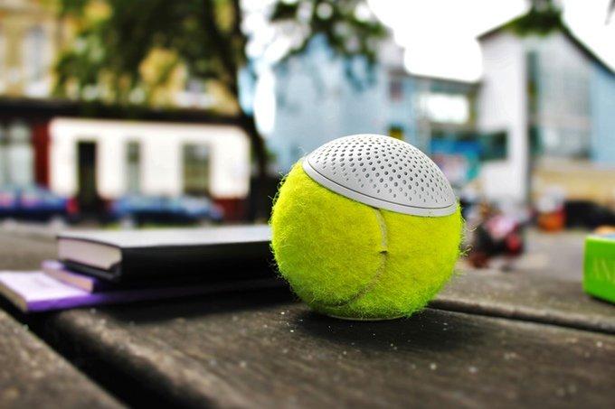 The Hearo Speaker Uses Championship Tennis Balls To Liven