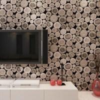 3D Wooden Log Texture Wallpaper  Gadget Flow