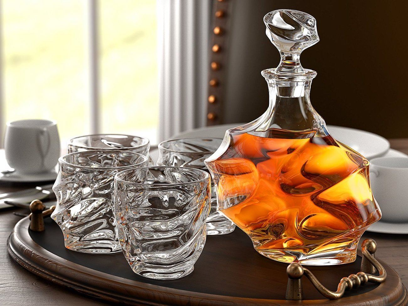 Whiskey Set Everest Whiskey Decanter Set