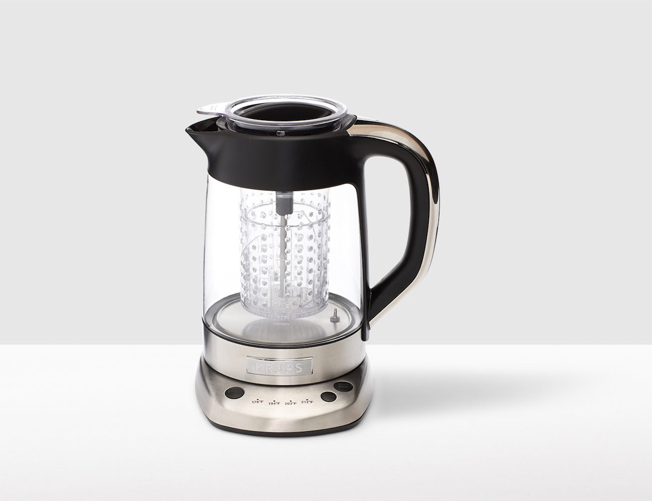 Tea Kettle With Strainer Krups Electric Glass Kettle Tea Infuser Gadget Flow