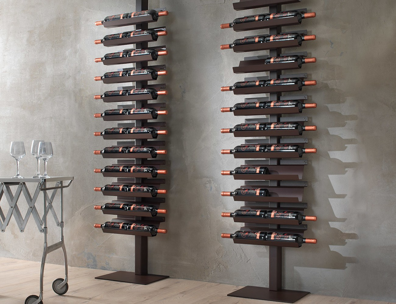Metal Wine Racks Dioniso Basic Steel Wine Rack