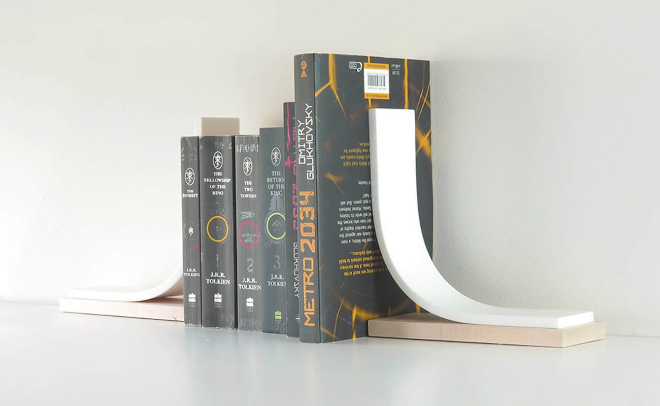 Bookends Book Igloo Studio Minimalist Bookends Gadget Flow