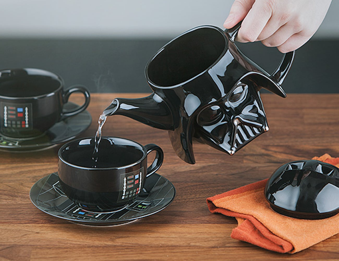 Star Wars Cooking Supplies Star Wars Darth Vader Teapot Set Gadget Flow