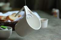 Ceramic Mug with Tea Bag Holder  Gadget Flow