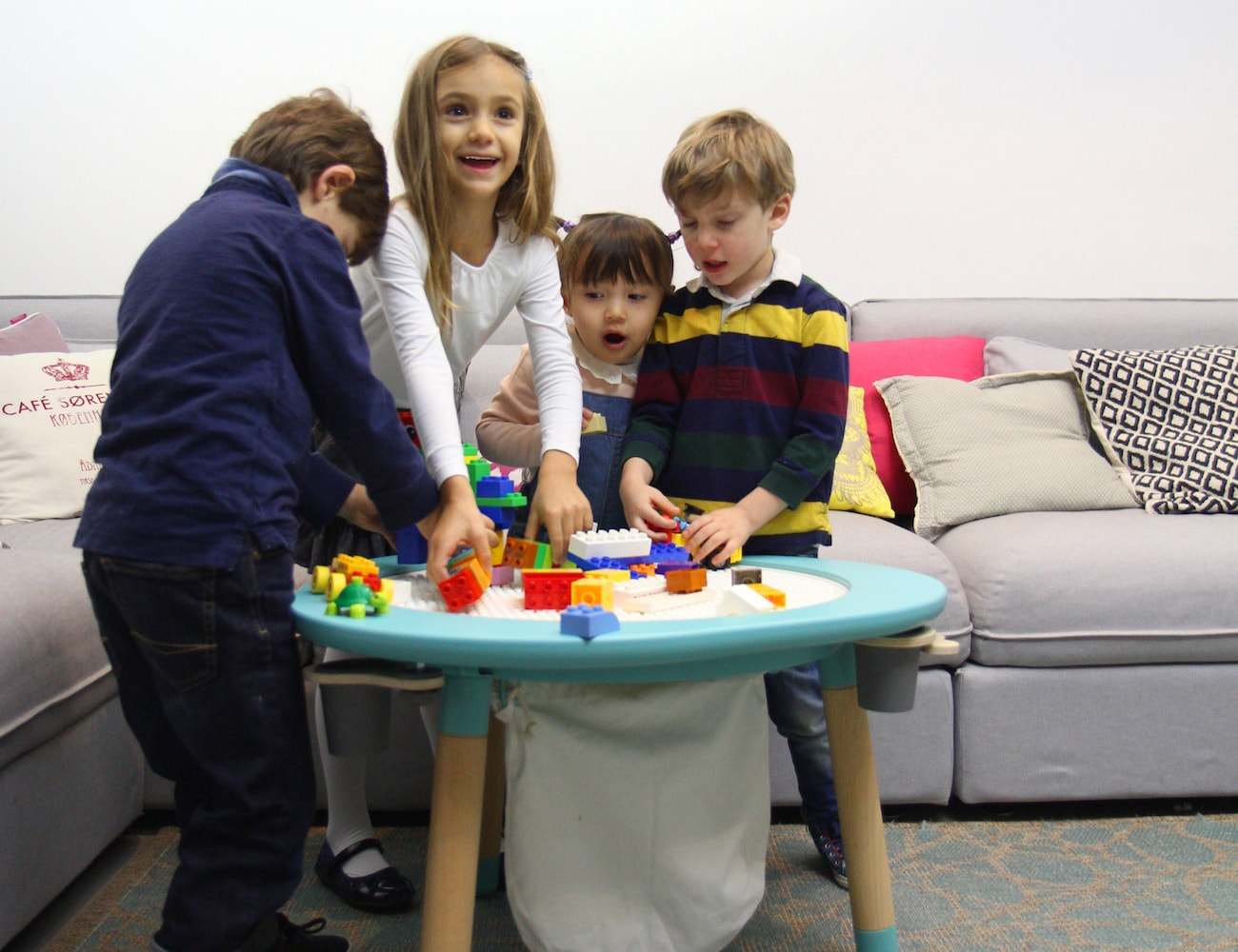 Childrens Play Table Mutable 2 Modular Childrens Play Table Gadget Flow