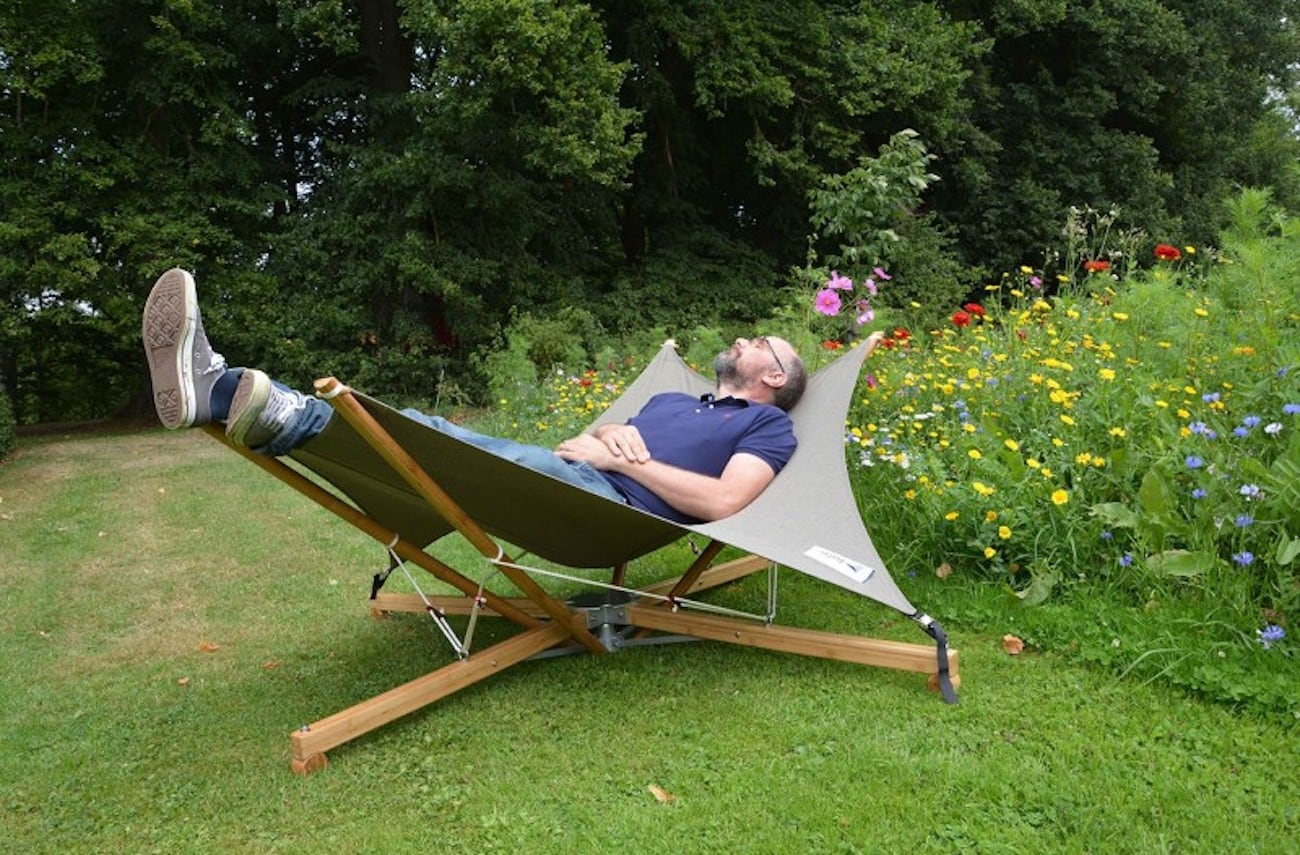 Cacoon Cacoon Kajito Foldable Bamboo Deck Chair