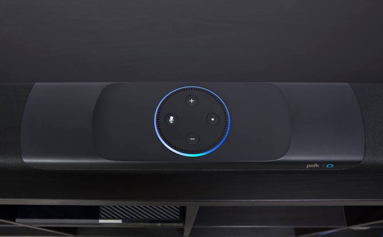 Alexa Audio Polk Audio Command Alexa Sound Bar Gadget Flow