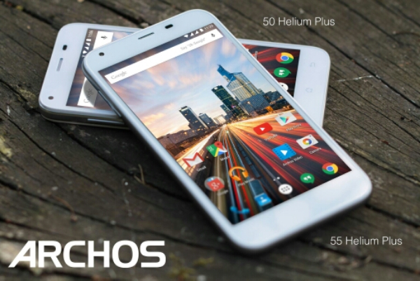 archos 50 helium plus and archos 55 helium plus budget android 5 1 smartphones announced the. Black Bedroom Furniture Sets. Home Design Ideas