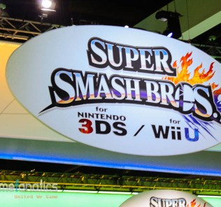 Super Smash Bros WiiU 3DSE3 2014 The Game Fanatics