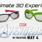 RealD 3D Presents Marvels The Avengers Collectors Edition 3D Glasses