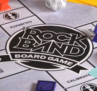 Rock Band Board Game