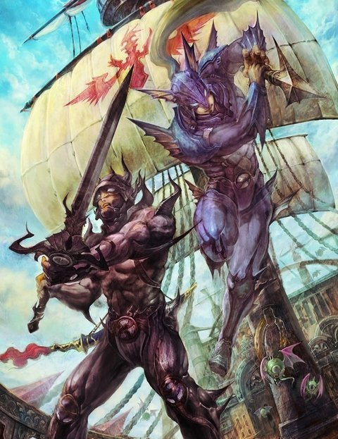 final fantasy 4 cecil kain art Fanatical Five: Top 5 Rivalries in Gaming