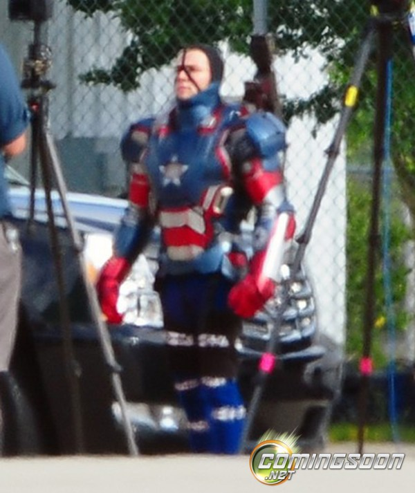 ironpatriotset2 600x713 The Iron Patriot to Take the Stage in Iron Man 3