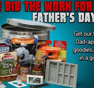 ThinkGeek Fathers Day Tin