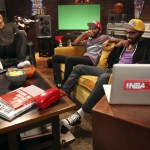 Kevin Durant and Blake Griffin Caught Filming NBA 2K13 Commercial