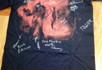 Signed Dead Space shirt