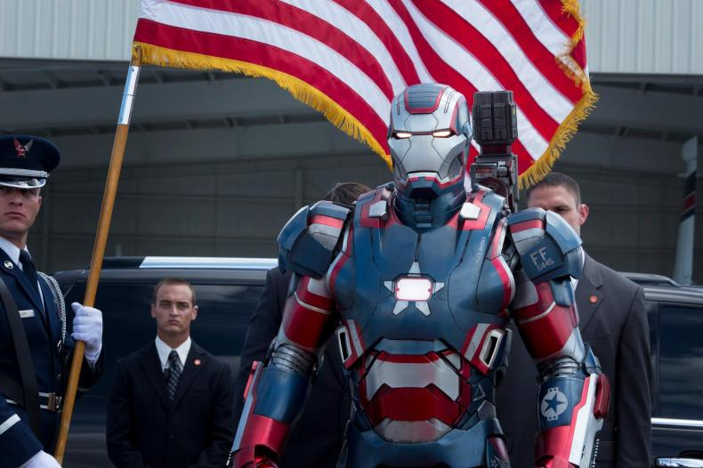 Iron Man 3 Iron Patriot Armor