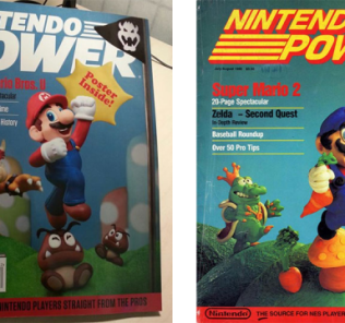 Nintendo Power Now and Then