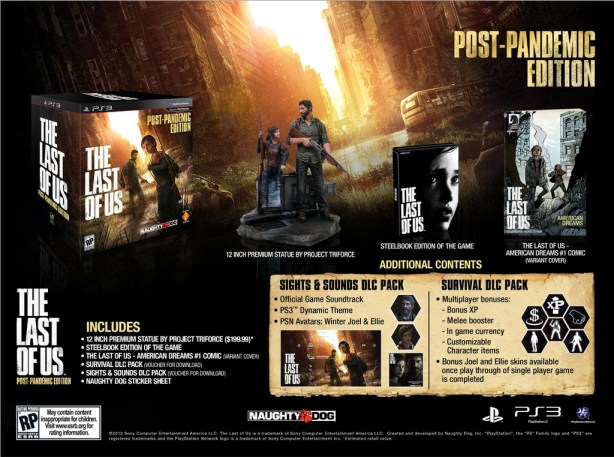postpandemicedition The Last of Us Special Editions Announced for Europe and North America