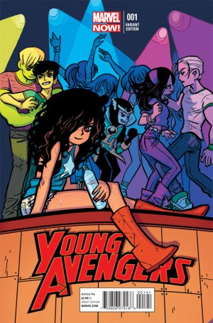 young avengers 1 variant omalley 300x455 The Comic Fanatic   Week of 1/23: Uncanny X Force, Batwoman, Young Avengers